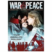 War and Peace DVD, 2013, 2-Disc Set - New in plastic - enjoy