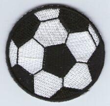 écusson ECUSSON PATCHE THERMOCOLLANT BALLON FOOT FOOTBALL DIAMETRE 4,5 CM