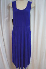 Donna Ricco New York Dress Sz 6 African Violet Sleeveless Business Dress
