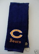 Personalized Embroidered Golf Bowling Workout Towel Chicago Bears