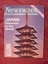 NEWSWEEK March 9 1970 3/9/70 JAPAN EXPO 70 URBAN SCOUTS