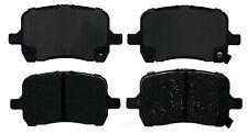 Disc Brake Pad Set-Ceramic Disc Brake Pad Front ACDelco Advantage 14D1160CH