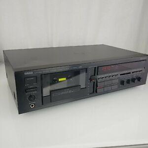 Vintage Yamaha KX-500U Natural Sound Stereo Cassette Deck - Works Great