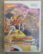 One piece Unlimited cruise 2 awakening of a hero para wii pal España y completo