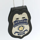 Bail Certified Fugitive Recovery Agent Metal Badge D