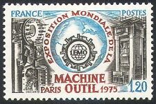 France Science & Technology Postal Stamps