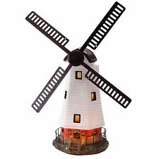 Traditional Windmill Super Bright Ornament Solar Powered Light Garden Decoration