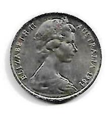 Australia Queen Elizabeth II 10 Cents Coin - 1981