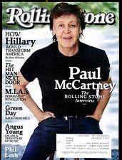 Rolling Stone Magazine August 25 2016 Paul McCartney EX No ML 020817jhe