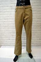 Pantalone WRANGLER Uomo Taglia 38 Jeans Regular  Pants Man Elastico Hose Marrone