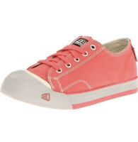 KEEN Toddler Little Kids Size 3 M Coronado Lace Shoes Coral Pink Pumice Stone