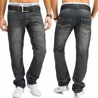 Neu Herren Jeans Hose Jogging Denim Stretch EVER FLEXStraight Fit