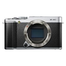 USED Fujifilm X-A1 16.3MP Digital Camera Body Silver Excellent FREE SHIPPING