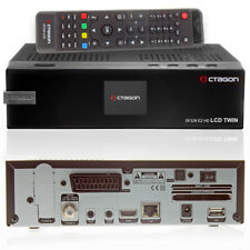Octagon SF-228 Twin LCD Full HD Linux E2 HDTV Sat-Receiver 1080p 1xDVB-S2 Tuner