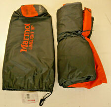 Marmot Limelight 3 Person Camping Tent w/ footprint - Cinder/Rusted Orange