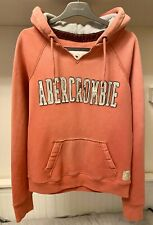 Women's Abercrombie & Fitch Pink Hoodie Size Medium