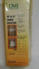 Duro-Med White Lumbar Sacral Belt Flex NOS