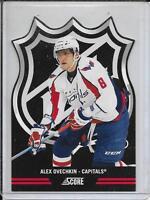 11-12 Score Alex Ovechkin NHL Shield Die Cuts # 7