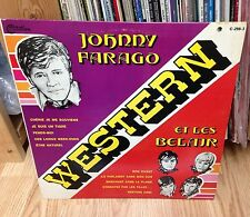 "JOHNNY FARAGO et LES BELAIR LP "" Western "" CITATION Canada 1969'"