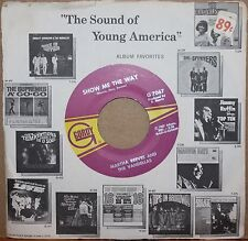MARTHA REEVES & VANDELLAS Show Me The Way *HONEY CHILE* Motown 45 on GORDY 7067
