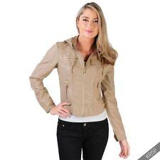 Abrigos y chaquetas de mujer de color principal beige talla 38