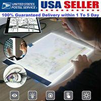 A4 LED Tracing Light Box USB Drawing Tattoo Board Pad Table Stencil Artist 3Mode