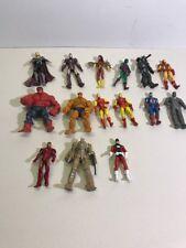 "Marvel Universe Lot Of 15 Hulk Thing Iron Man Spiderwoman Action Figure 3.75"""
