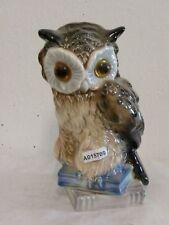 +# A015709 Goebel Archiv Muster Rauchverzehrer Eule Owl auf Buch Book 58-004