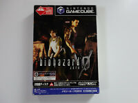 BIOHAZARD ZERO 0 Resident Evil Nintendo Gamecube GC JAPAN