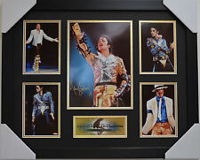 MICHAEL JACKSON LIMITED EDITION SIGNED AND FRAMED