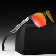 Polarized Metal Men Glasses Outdoor Sports Eyewear Driving Uv Sunglasses
