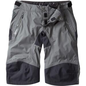 Madison DTE, womans, mounatin bike, cycling waterproof shorts, Dark shadow.
