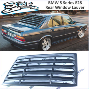 BMW 5 Series E28 Rear Window Louver ,ABS Plastic Grills For BMW 5 Window