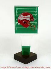 1990s Budweiser Beer Football 5¾ inch Acrylic Tap Handle TavernTrove