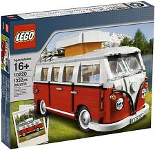 Orginal VW Lego Bulli T1 Red White Camping bus Lego Creator T1 Bulli Camping bus
