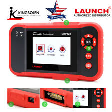 OBDII Diagnostic Tool  US CRP123 Airbag SRS Engine Transmission Auto Scanner