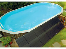 SunHeater Universal (2) 2'x20' Solar Heater System Panel For Swimming Pool S240U