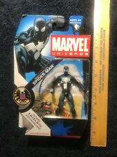 Marvel Universe Black Costume Spider Man 3.75 Used 2008
