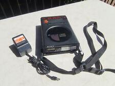 Vintage Sony D-5 (D50) Discman 1st Portable Compact Disc CD Player & EBP-9LC
