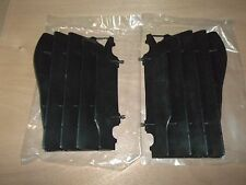 New OEM Honda Black Radiator Covers Guards CRF450R CRF 450R 2005 2006 2007 2008