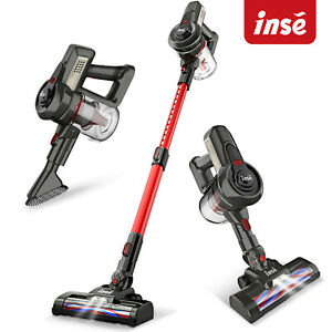 INSE Cordless 12KPa Vacuum Cleaner 2-in-1 Stick Upright Compact Handheld Bagless
