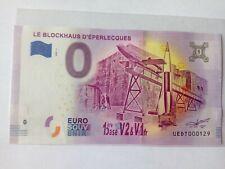 BILLET EURO SOUVENIR/0 EURO SCHEINE 2020-3 LE BLOCKHAUS D'EPERLECQUES