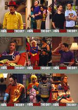 2013 Cryptozoic Big Bang Theory Seasons 3 & 4 Complete 68 Card Set + Empty Box +