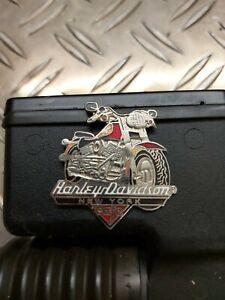 Harley Davidson Plakette New York