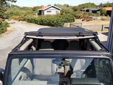 Sunroof Stainless Conversion Kit for OEM Softtop - Jeep Wrangler TJ 1997-2006