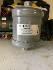 Henry S-4004R Refrigerant Oil Filter 4 Micron with Valve 375 Psig Max