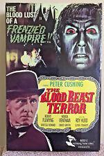 THE BLOOD BEAST TERROR MHV Big Box VHS Peter Cushing Tigon 1960s British Horror!