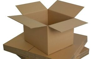 SELECTION OF POSTAL MAILING CARDBOARD BOXES *ALL SIZES* SINGLE WALL