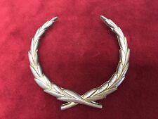Vintage Gold Tone Cadillac Roof Crest /Wreath Emblem