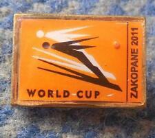 FIS WORLD CUP SKI FLYING JUMPING POLAND ZAKOPANE 2011 SMALL PIN BADGE